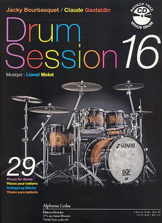 Jacky Bourbasquet y otros.: Drum Session 16