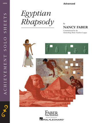 Nancy Faber: Piano Adventures – Egyptian Rhapsody
