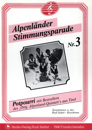 Alpenland Quintett Stretta Sheet Music Shop