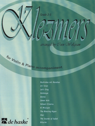 Klezmers for Violin and Piano