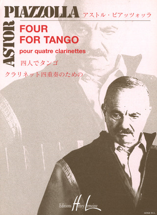 Astor Piazzolla: Four for Tango