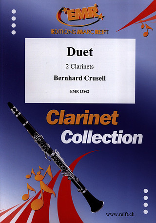 Crusell, Bernhard: Duet for 2 Clarinets