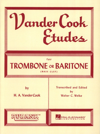 Hale A. VanderCook: Etudes For Trombone