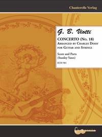 Giovanni Battista Viotti: Concerto No. 18 arranged for Guitar and Strings
