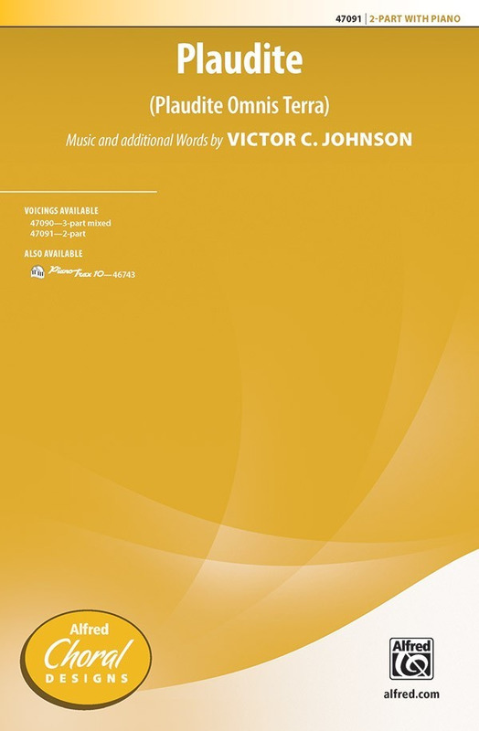 Victor C. Johnson: Plaudite