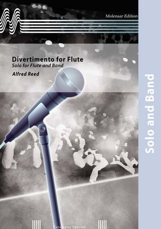 Alfred Reed: Divertimento for Flute