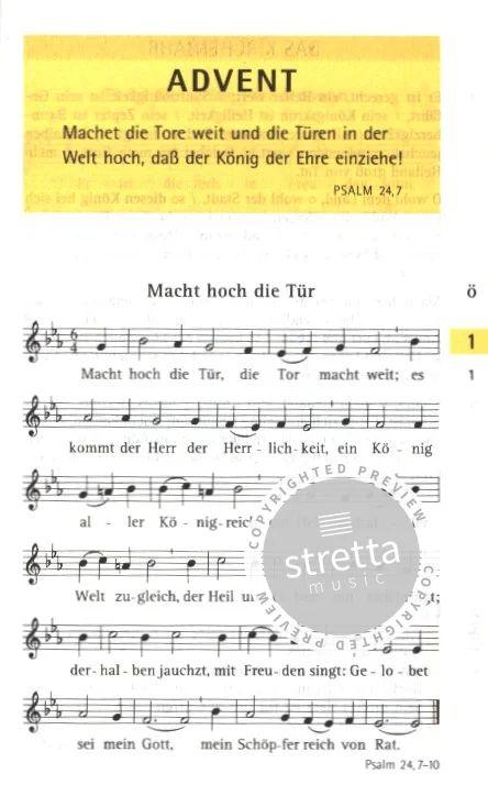 Evangelisches Gesangbuch Online Texte Und Noten