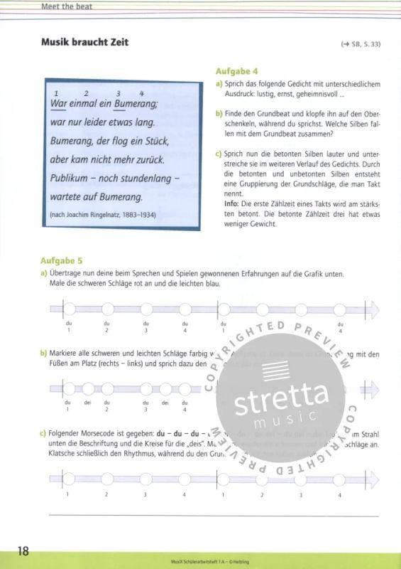 Musix Das Kursbuch Musik 1 Von Markus Detterbeck Et Al