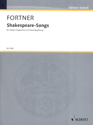 Wolfgang Fortner: Shakespeare-Songs