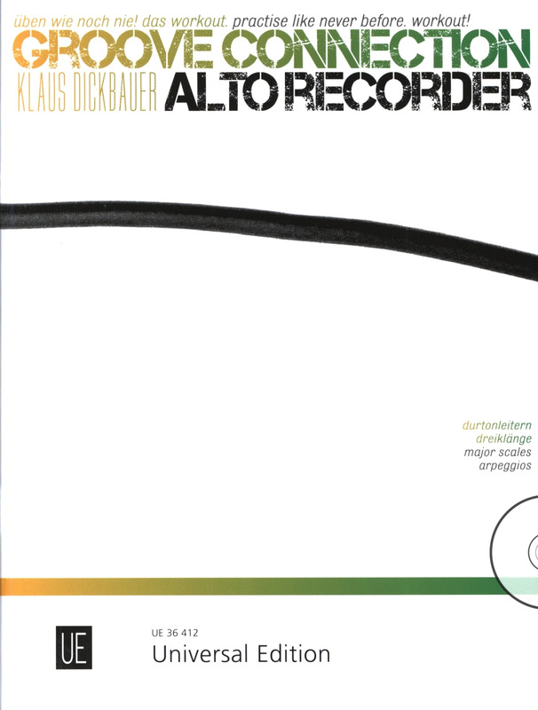 Klaus Dickbauer: Groove Connection 1 – Alto Recorder