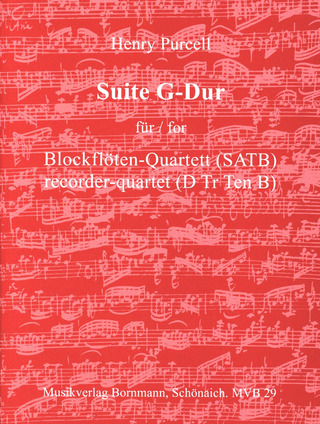Henry Purcell: Suite G-Dur