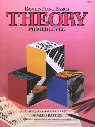 James Bastien: Bastien Piano Basics – Theory Primer
