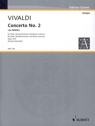 Antonio Vivaldi: Concerto No. 2 in G minor op. 10/2
