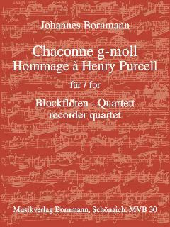 Johannes Bornmann: Chaconne G-Moll Hommage A Henry Purcell