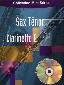 Sax Tenor Et Clarinette B Collection Mini Series Bk/Cd