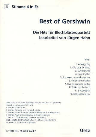 Jürgen Hahn: Best of Gershwin