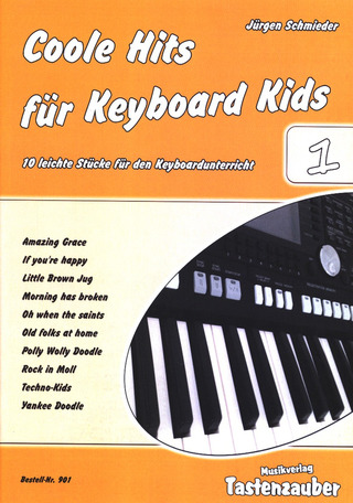 Coole Hits für Keyboard Kids 1