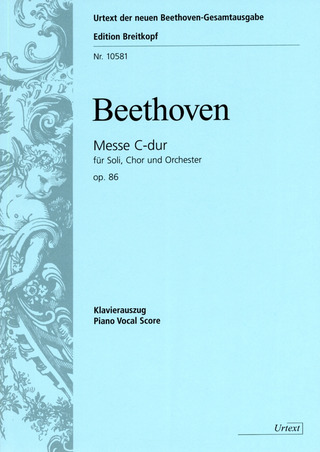 Ludwig van Beethoven: Mass in C major op. 86