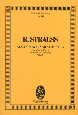 Richard Strauss: Also sprach Zarathustra op. 30 (1896)