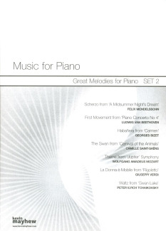 Great Melodies For Piano - Set 2