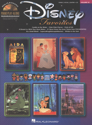 Piano Play-Along Volume 92: Disney Favourites