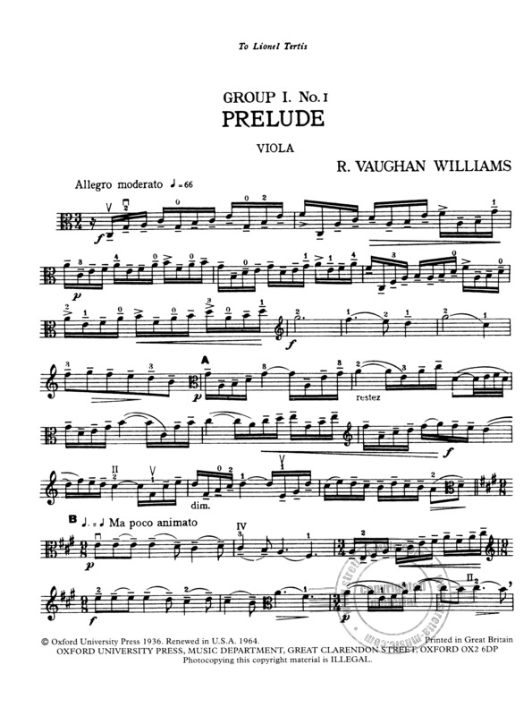Ralph Vaughan Williams: Suite for Viola and Orchestra (3)