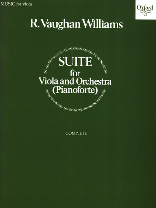 Ralph Vaughan Williams: Suite for Viola and Orchestra
