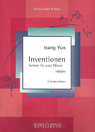 Isang Yun: Inventionen (1983/84)