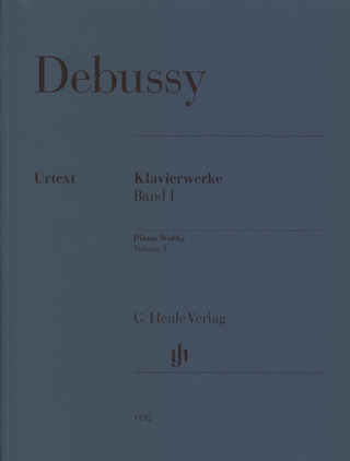 Claude Debussy: Piano Works 1