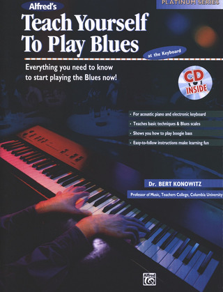 Bert Konowitz: Teach Yourself to play Blues at the Keyboard