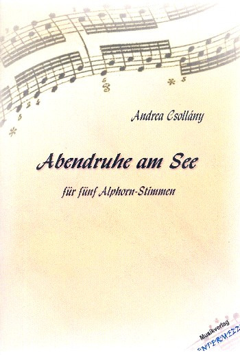 Andrea Csollány: Abendruhe am See