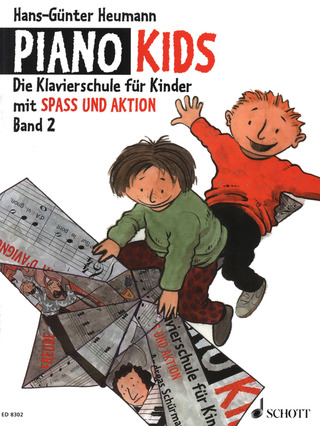 Hans-Günter Heumann: Piano Kids 2