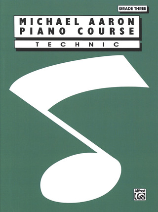 Michael Aaron: Piano Course - Technic 3