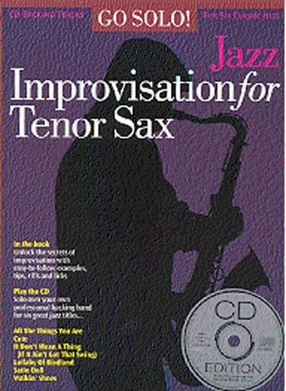 Jazz Improvisation For T-Sax