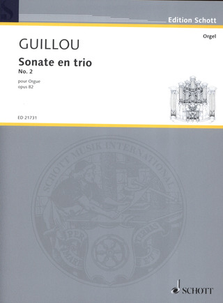 Jean Guillou: Sonate en trio No. 2 op. 81/2
