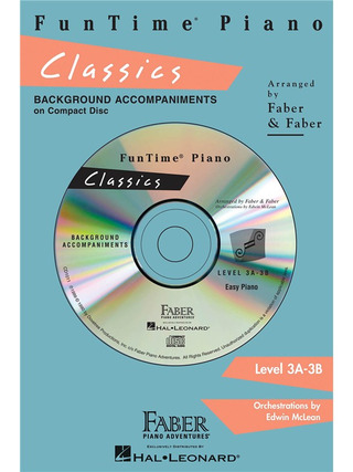 Nancy & Randall Faber: FunTime Piano Classics CD (Level 3A-3B)