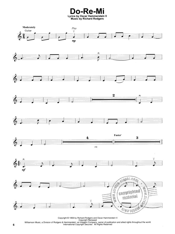 Richard Rodgers et al.: Violin Play-Along Volume 56: The Sound Of Music (2)