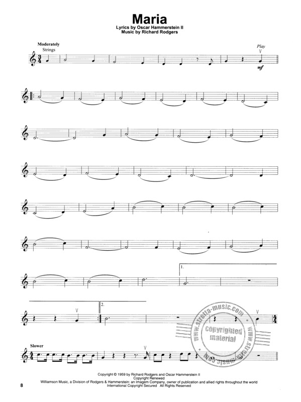 Richard Rodgers et al.: Violin Play-Along Volume 56: The Sound Of Music (3)