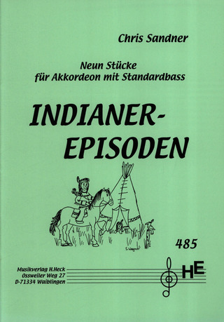 Chris Sandner: Indianer - Episoden