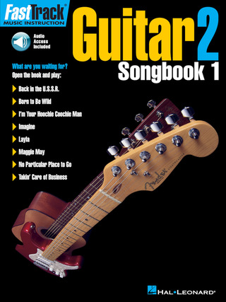 FastTrack Guitar 2 – Songbook 1