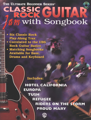 Classic Rock Guitar Jam With Songbook