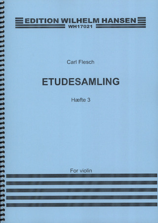 Carl Flesch: Studies and Exercises for Violin 3