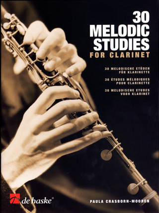Crasborn-Mooren, Paula: 30 Melodic Studies for Clarinet