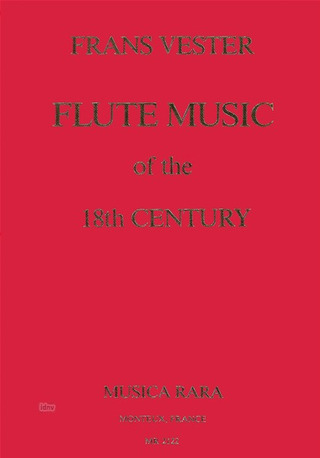 Frans Vester: Flute music of the 18th century