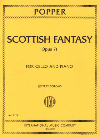 David Popper: Scottish Fantasy Op 71