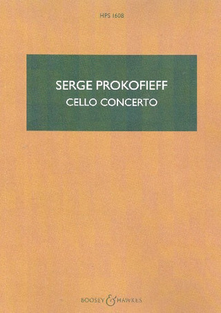 Sergei Prokofjew: Cello Concerto in E minor op. 58