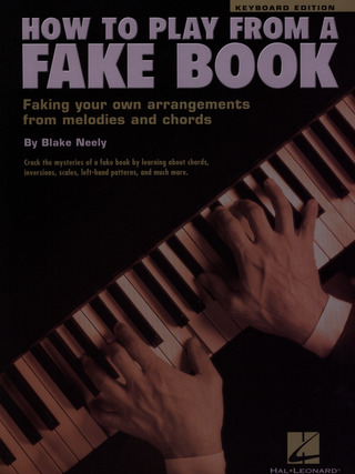 Neely Blake: How To Play From A Fake Book Pf