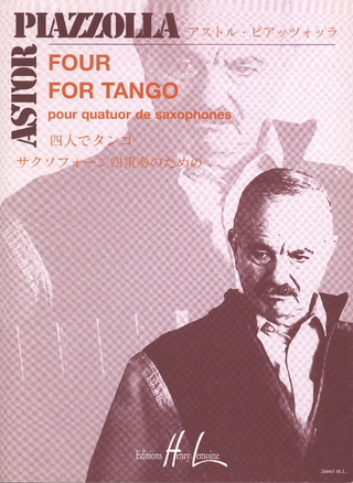 Astor Piazzolla: Four, For Tango