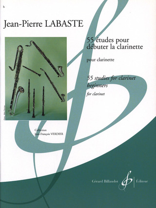 Jean-Pierre Labaste: 55 studies for clarinet beginners