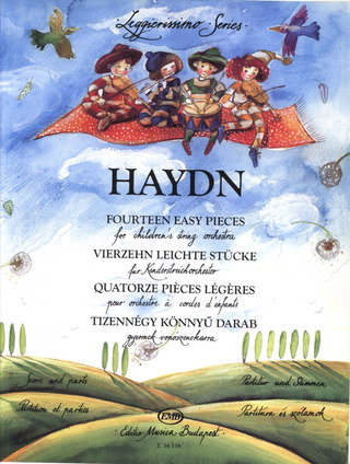 Joseph Haydn: 14 Easy Pieces For Children's String Orchestra